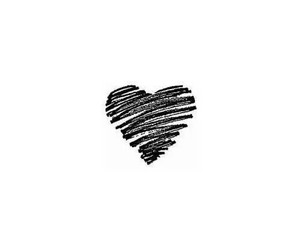 heart, love, and black image