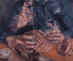 art, alcohol, and painting image