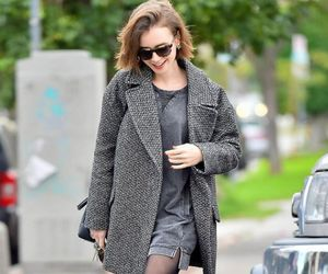 fashion, street style, and lily collins image