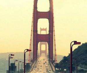 bridge, san francisco, and city image