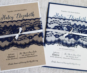 wedding, wedding invitations, and rustic wedding image