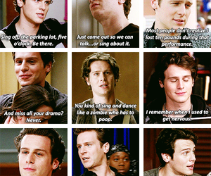 glee, quotes, and jesse st james image