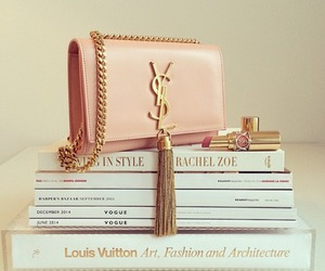 fashion, YSL, and Yves Saint Laurent image