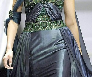 haute couture, runway, and silk image