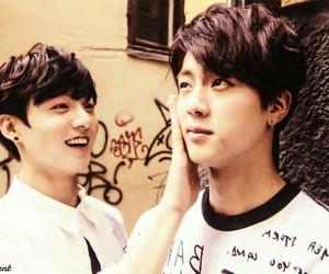 jin, jung kook, and bts image