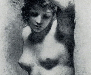 drawing, Nude, and pierre-paul prud'hon image