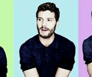 Jamie Dornan, fifty shades of grey, and love image