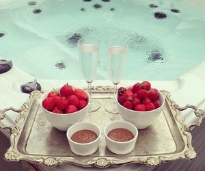 strawberry, chocolate, and luxury image