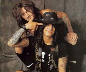 nikki sixx, tommy lee, and motley crue image
