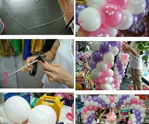 baloons, diy, and ideas image