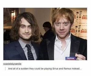 harry and ron and extraordinary zombie image