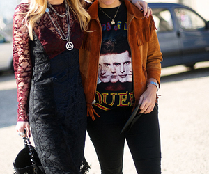 fashion, Queen, and streetstyle image