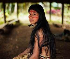 woman, beauty, and amazonia image