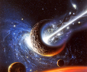 cosmic, mystical, and planets image