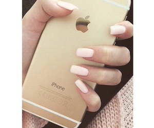 nails, iphone, and beautiful image