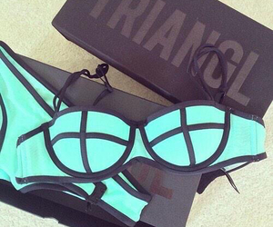 triangl, bikini, and summer image