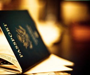 passport, travel, and world image