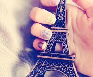 girly, nails, and paris image