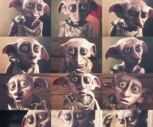 dobby, harry potter, and book image