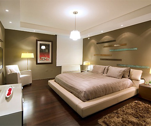 home, luxury, and bed image