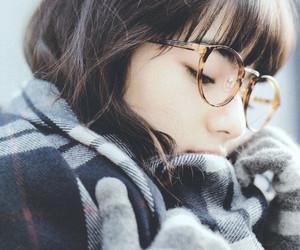 girl, glasses, and nana komatsu image