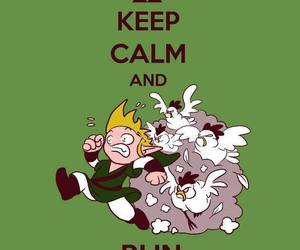 funny, keep calm, and link image