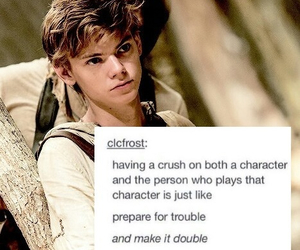crush, newt, and thomas image
