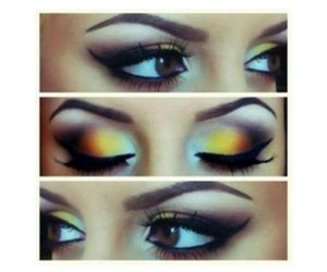 eyeshadow, pretty, and makeup image