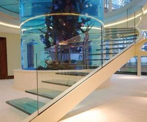 luxury, aquarium, and home image
