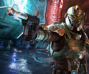 bounty hunter, star wars, and the old republic image