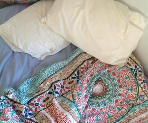 bed, indie, and sleep image