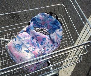 vans, grunge, and bag image