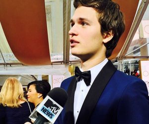 ansel elgort, oscar, and ansel image