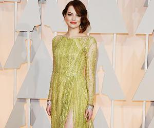 emma stone, oscar, and dress image