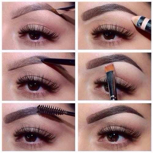 eyebrows, fierce, and make-up image