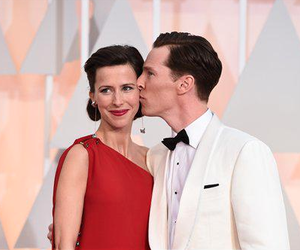 benedict cumberbatch, oscar, and sophie hunter image