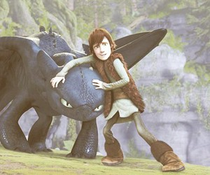 dragon, how to train your dragon, and hiccup image