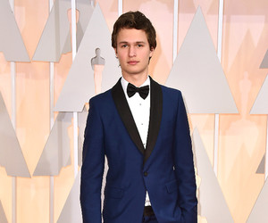 oscar, ansel elgort, and Hot image