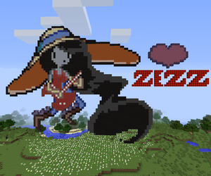 adventure time, mine craft, and zezz image