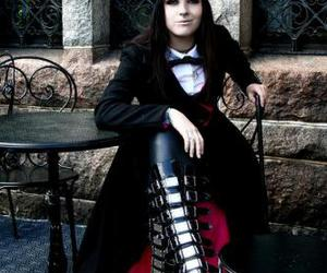 girl, gothic, and steampunk image