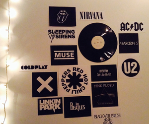 beatles, bedroom, and coldplay image