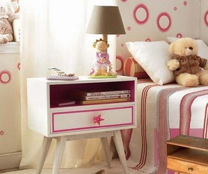 bedroom, pink, and sweet image