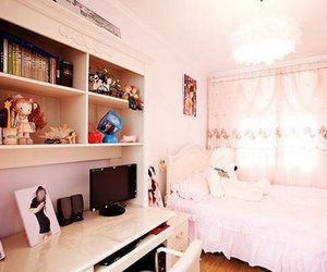 bedroom, girly, and sweet image