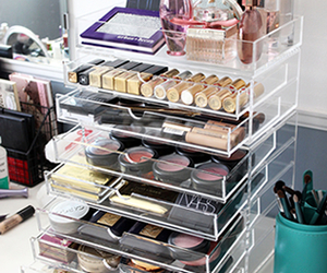 i want, makeup, and storage image