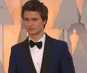 oscars, ansel elgort, and handsome image