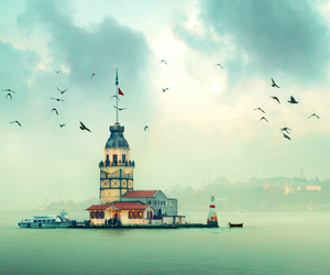istanbul, turkey, and sea image