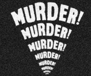 murder, black and white, and b&w image