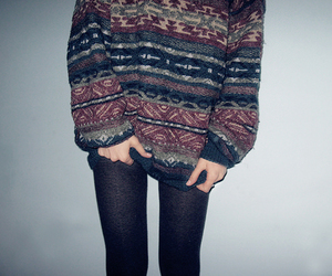 sweater, hipster, and winter image
