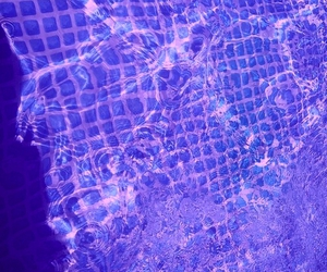 water, blue, and grunge image