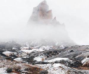 beautiful, fog, and mountain image